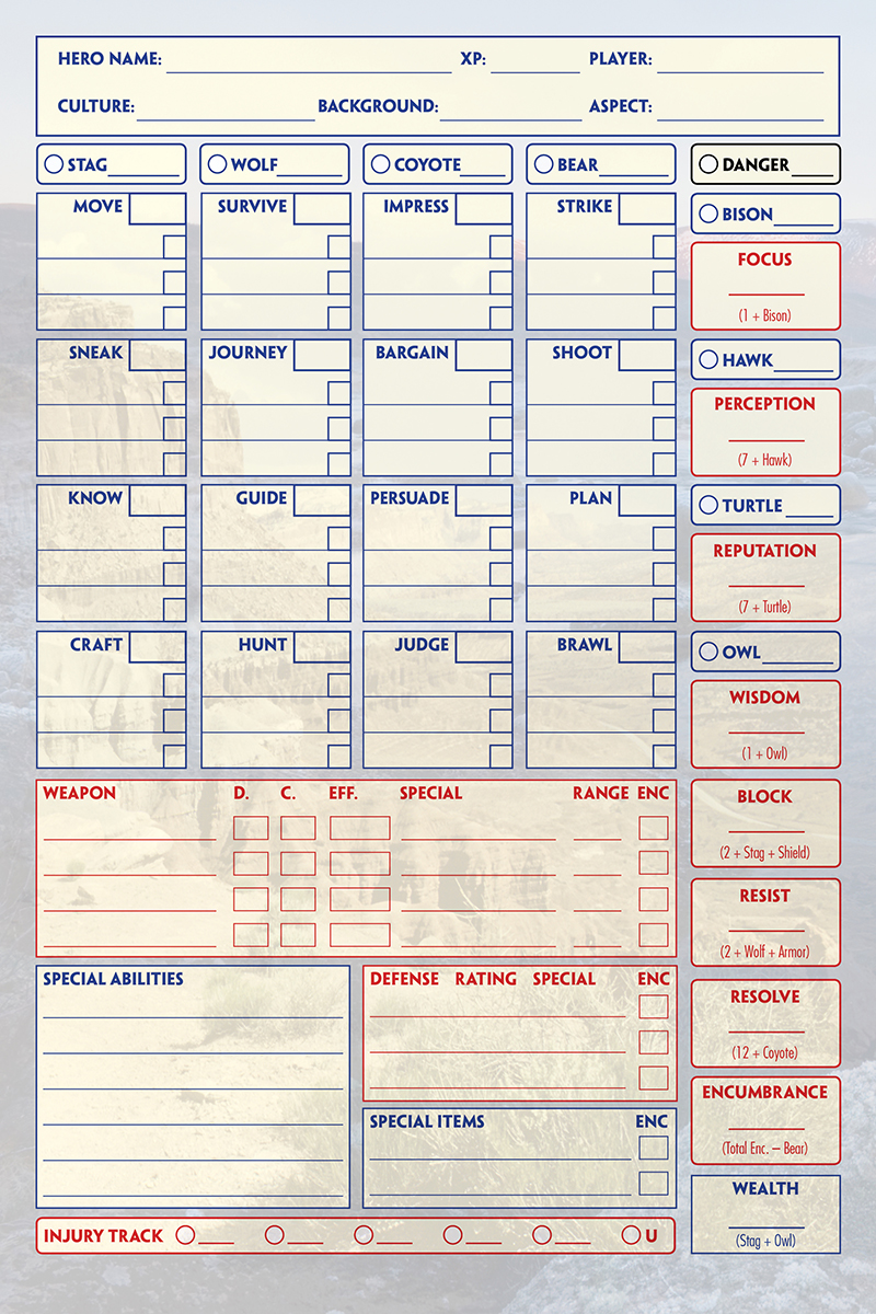 What are you designing character sheets with? | RPGnet Forums