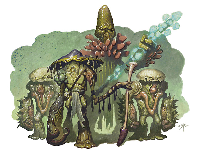 When the King Comes Knocking:Myconid - RPGnetWiki